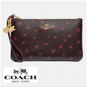 Designer Coach Star Charm Wristlet NIB I1